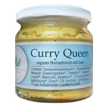 curry queen bio aufstrich mit ausgewähltem Curry
